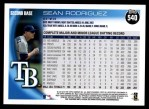 2010 Topps #540  Sean Rodriguez  Back Thumbnail