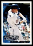 2010 Topps #641  Chase Headley  Front Thumbnail