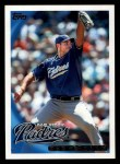 2010 Topps #657  Chris Young  Front Thumbnail