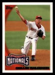 2010 Topps #654  Collin Balester  Front Thumbnail