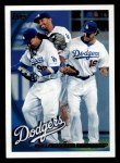 2010 Topps #639   Dodgers Team Front Thumbnail