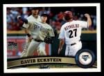 2011 Topps #51  David Eckstein  Front Thumbnail