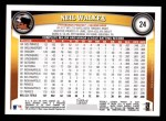 2011 Topps #24  Neil Walker  Back Thumbnail