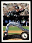 2011 Topps #65  Chris Sale  Front Thumbnail