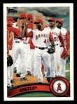 2011 Topps #49   Angels Team Front Thumbnail