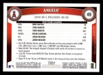 2011 Topps #49   Angels Team Back Thumbnail