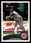 2011 Topps #54  Brian Fuentes  Front Thumbnail