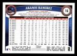 2011 Topps #16  Aramis Ramirez  Back Thumbnail