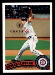 2011 Topps #74  Tyler Clippard  Front Thumbnail