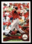 2011 Topps #32  Chris Johnson  Front Thumbnail
