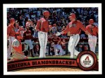 2011 Topps #53   Diamondbacks Team Front Thumbnail