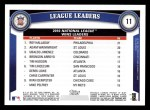 2011 Topps #11   -  Roy Halladay / Adam Wainwright / Ubaldo Jimenez NL Wins League Leaders Back Thumbnail