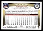 2011 Topps #47  Kevin Correia  Back Thumbnail