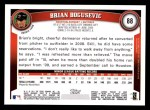 2011 Topps #88  Brian Boqusevic  Back Thumbnail