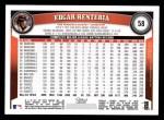 2011 Topps #58  Edgar Renteria  Back Thumbnail