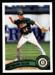 2011 Topps #17  Mark Ellis  Front Thumbnail