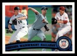 2011 Topps #82   -  Josh Johnson / Adam Wainwright / Roy Halladay NL ERA League Leaders Front Thumbnail