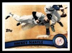 2011 Topps #7  Mickey Mantle  Front Thumbnail