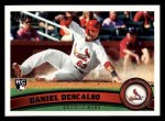 2011 Topps #87  Daniel Descalso  Front Thumbnail