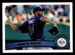 2011 Topps #61  David Price  Front Thumbnail