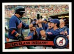 2011 Topps #68   Indians Team Front Thumbnail