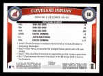 2011 Topps #68   Indians Team Back Thumbnail