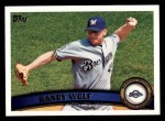 2011 Topps #14  Randy Wolf  Front Thumbnail