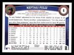 2011 Topps #6  Neftali Feliz  Back Thumbnail