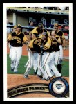 2011 Topps #126   Padres Team Front Thumbnail
