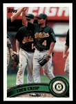 2011 Topps #190  Coco Crisp  Front Thumbnail