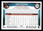 2011 Topps #135  Mike Stanton  Back Thumbnail