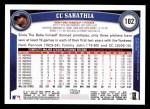 2011 Topps #102  C.C. Sabathia  Back Thumbnail