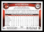 2011 Topps #185  Peter Bourjos  Back Thumbnail