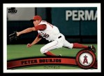 2011 Topps #185  Peter Bourjos  Front Thumbnail