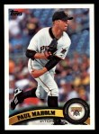2011 Topps #180  Paul Maholm  Front Thumbnail