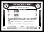 2011 Topps #161   White Sox Team Back Thumbnail