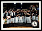 2011 Topps #161   White Sox Team Front Thumbnail