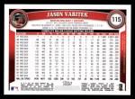 2011 Topps #115  Jason Varitek  Back Thumbnail
