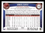 2011 Topps #112  Jorge Cantu  Back Thumbnail
