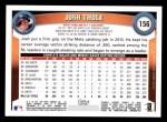 2011 Topps #156  Josh Thole  Back Thumbnail