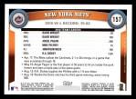 2011 Topps #157   Mets Team Back Thumbnail