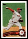 2011 Topps #142  Johnny Cueto  Front Thumbnail