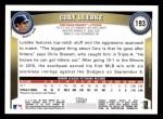 2011 Topps #193  Cory Luebke  Back Thumbnail