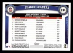 2011 Topps #134   -  Carlos Gonzalez / Joey Votto / Omar Infante NL Batting League Leaders Back Thumbnail