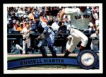 2011 Topps #114  Russell Martin  Front Thumbnail