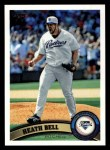 2011 Topps #178  Heath Bell  Front Thumbnail