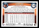 2011 Topps #119  Jason Bay  Back Thumbnail