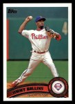 2011 Topps #199  Jimmy Rollins  Front Thumbnail