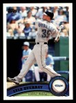 2011 Topps #172  Lyle Overbay  Front Thumbnail