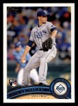 2011 Topps #165  Jeremy Hellickson  Front Thumbnail